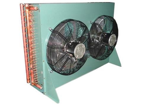 冷库工程卧式壳管式冷凝器的结构与立式类似,当制冷剂为氨时